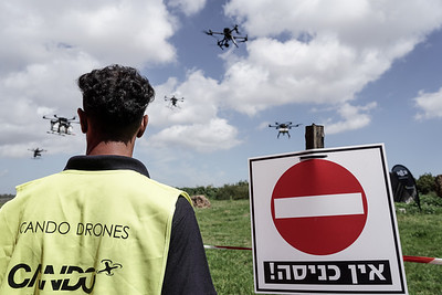 20210317 Drone Managed Airspace Demonstration in Israel