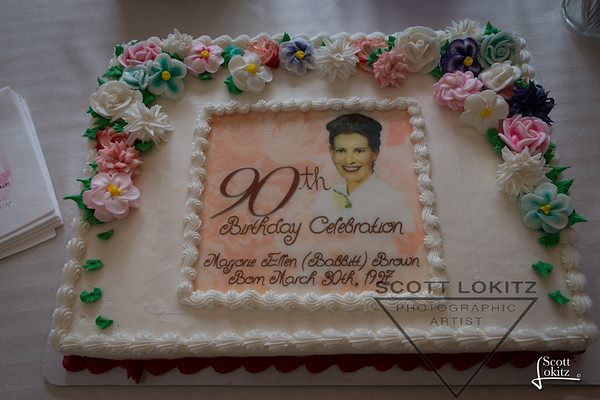 Marjorie's 90th Birthday