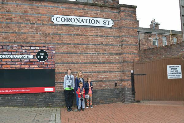 Coronation Street tour 2014