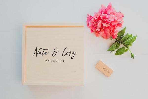 NATE + CORY WOOD PROOF BOX W/USB