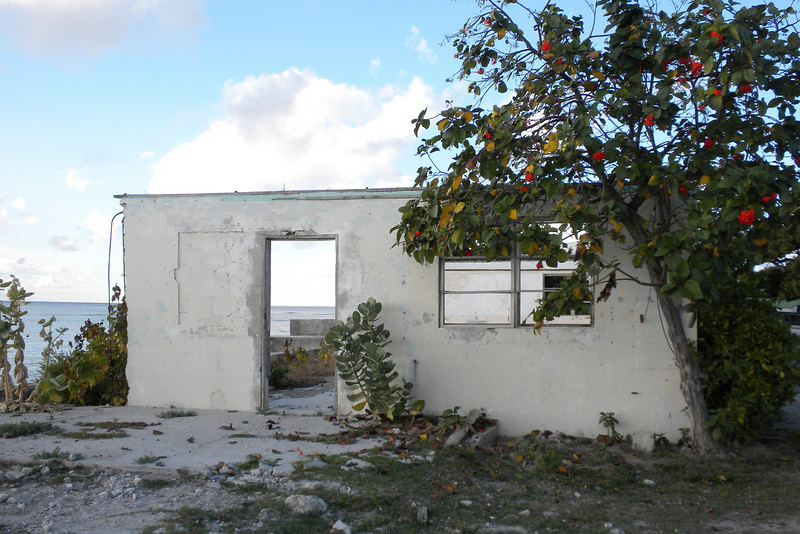 Hurricane Ike destroyed this home in Cockburn Town, Grand Turk