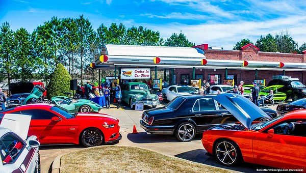 Cool Cruisers Sonic Cruise-In Suwanee Ga Mar 2019