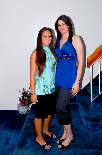 Melissa & her cousin Christina