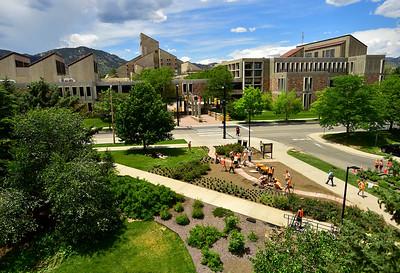 Photos: CU Boulder Pollinator Garden