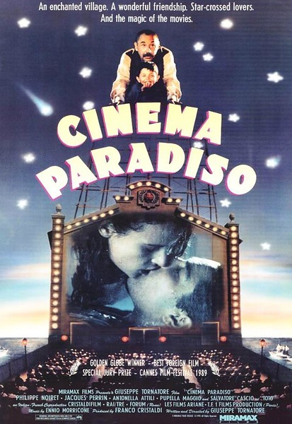 Cinema Paradiso (1990) - Movies about Italy