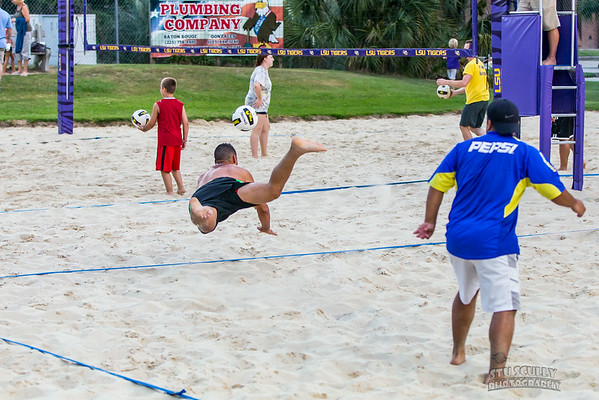 Mangos Beach Volleyball testing
