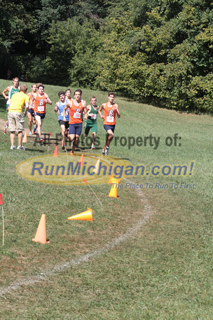 Mens College 5K 1st Loop - 2012 Running Fit–Detroit Titan XC Invite