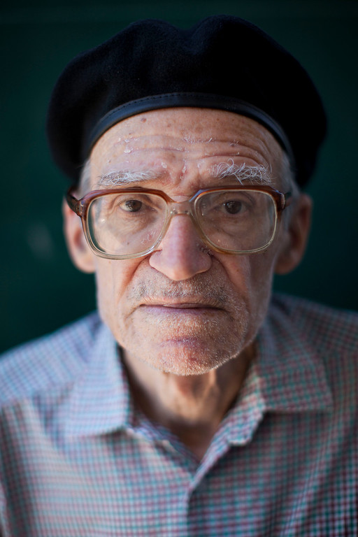 """. Nissim Pinto, 79, poses for a photo in Tel Aviv, Israel on Thursday, July 4, 2013. When asked: As you grow older, what are you most afraid of and what is the biggest problem facing the elderly in your country? Pinto said, \""""I\'m afraid of nothing. I just don\'t really know how to continue my life as I get older like I used to live for almost the last 80 years. I don\'t like when young people treat me as an old man when I wait in line at the supermarket or in the pharmacy, they asking me why I\'m standing. I really appreciate the way they want to help an old man but I don\'t like to feel old. Times have changed, and life is much more expensive than it used to be 20 years ago. Today it\'s not easy to live from the pension we have - we can pay for less than the basics, and we can not work anymore.\"""" (AP Photo/Oded Balilty)"""