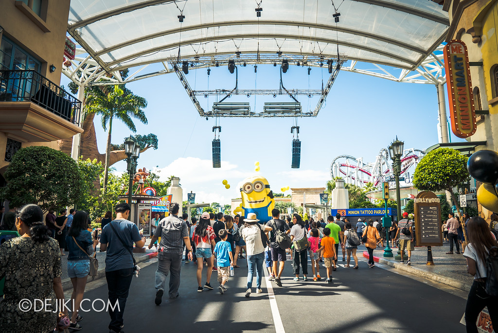 Despicable Me Breakout Party at Universal Studios Singapore / Hollywood Plaza