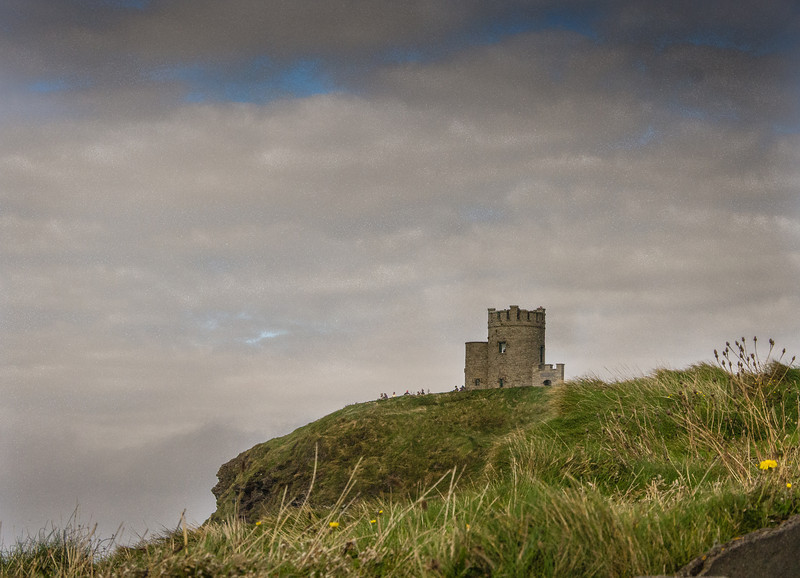 O' Brien's Castle on the Cliff's of Mohr