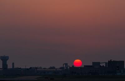 Lavon Sunset 4-11-11