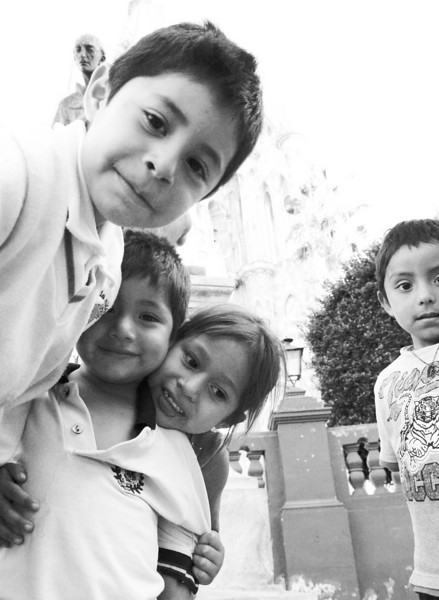 children posing for me bw lr.jpg