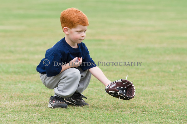 Sage first T-ball game 5-12-12