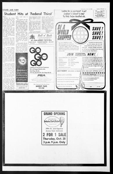 Daily Trojan, Vol. 57, No. 28, October 27, 1965