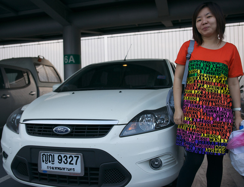 Pa - arrival at Suvarnabhumi Intl airport, Bangkok