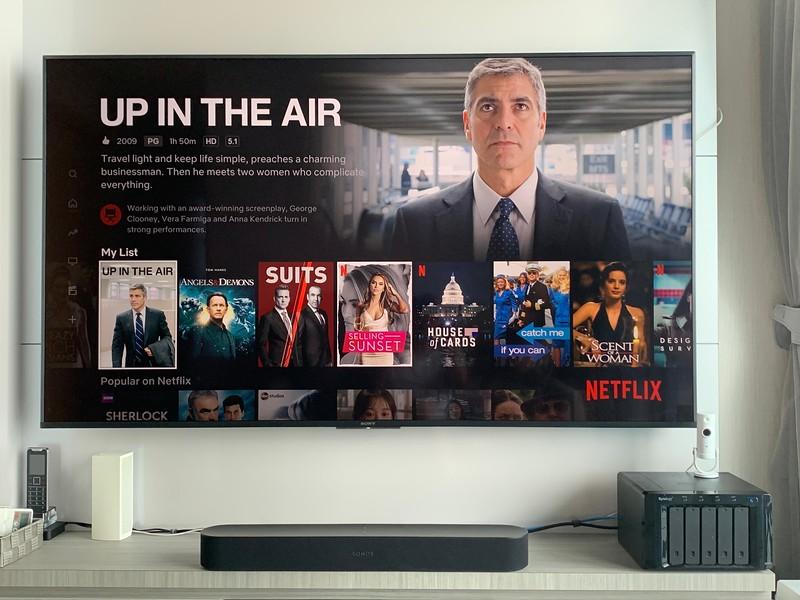 Sonos Beam with Netflix
