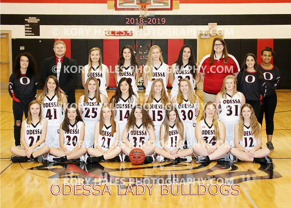 2018-2019 OMS Girls Basketball