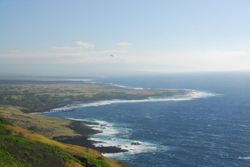Coast of South Point, Hawaii