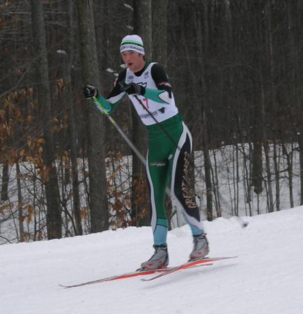 Junior winner and 3rd place overall was Mac Brennan (Go Team NordicSkiRacer.com!)