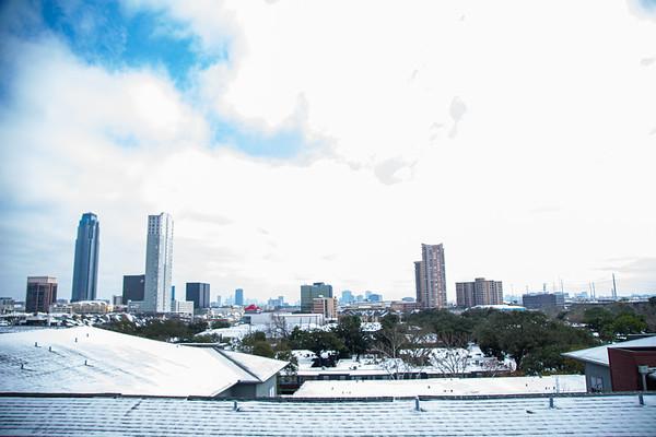 Houston Snow Feb 2021