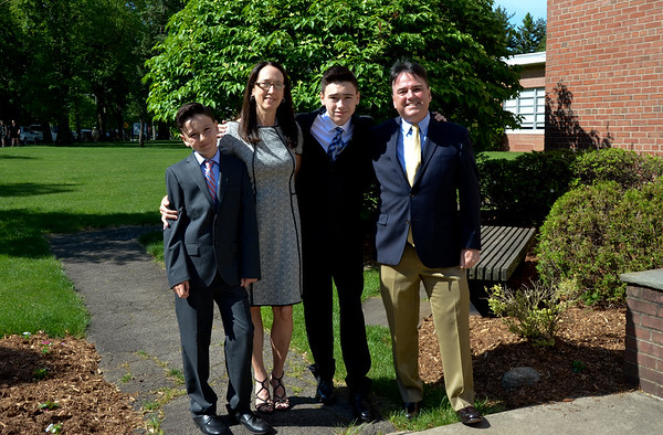 Robbie's Confirmation