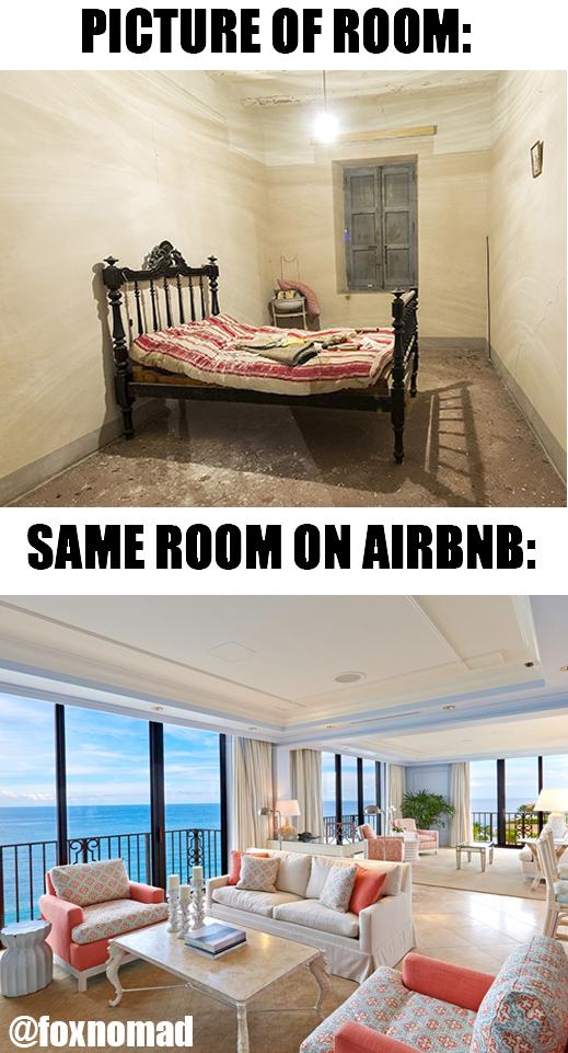 airbnb meme