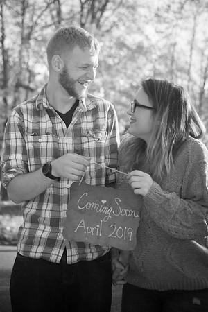 TrevAbbey baby announcement