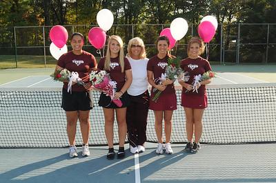 2012 Tennis Senior Day