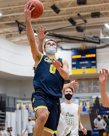 Varsity Basketball: Clarkston vs. Lake Orion 3/25/2021