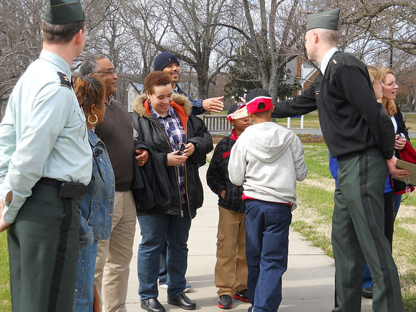 Students from St. Andrews School tour FUMA