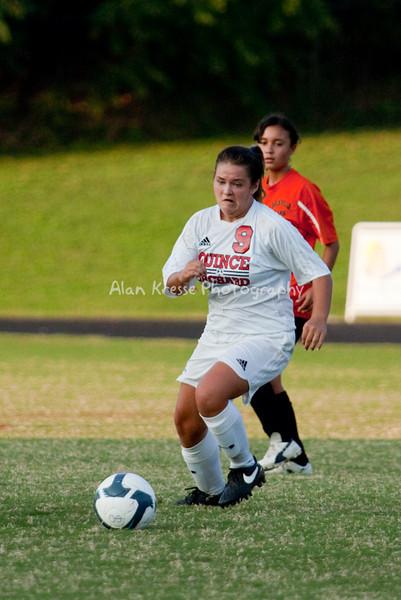 QO Girls JV Soccer