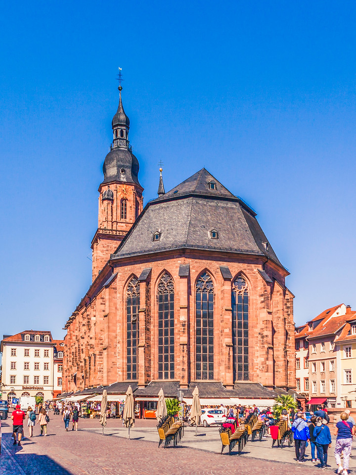 德国曼海姆(Mannheim),看建筑风格
