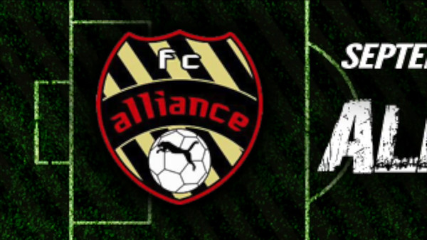 Sept. 13 - FC Alliance Fall Final vs. TSL