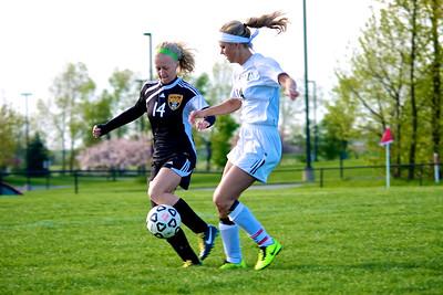 Zeeland West Girls Soccer vs. Hamilton
