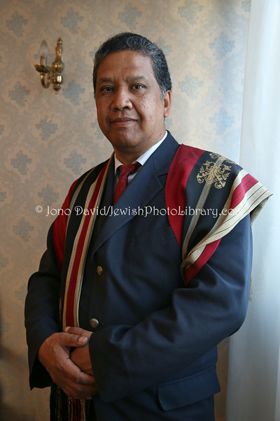 MADAGASCAR, Antananarivo. Prince Ndriana Rabarioelina, PhD. Direct descendant of Aaron the High Priest, Direct descendant of the Eldest branch of the Royal House of Madagascar, Head of the Royal House of Madagascar (8.2014)