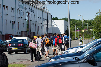 U14 Boys at Clyde, Scotland