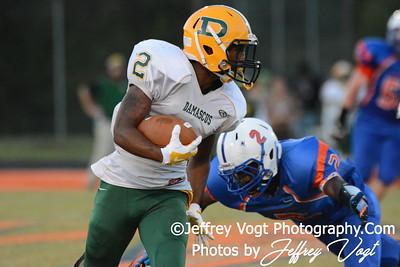 09-26-2014 Watkins Mill HS vs Damascus HS Varsity Football, Photos by Jeffrey Vogt Photography