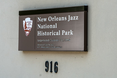 New Orleans Jazz National Historic Park 2018