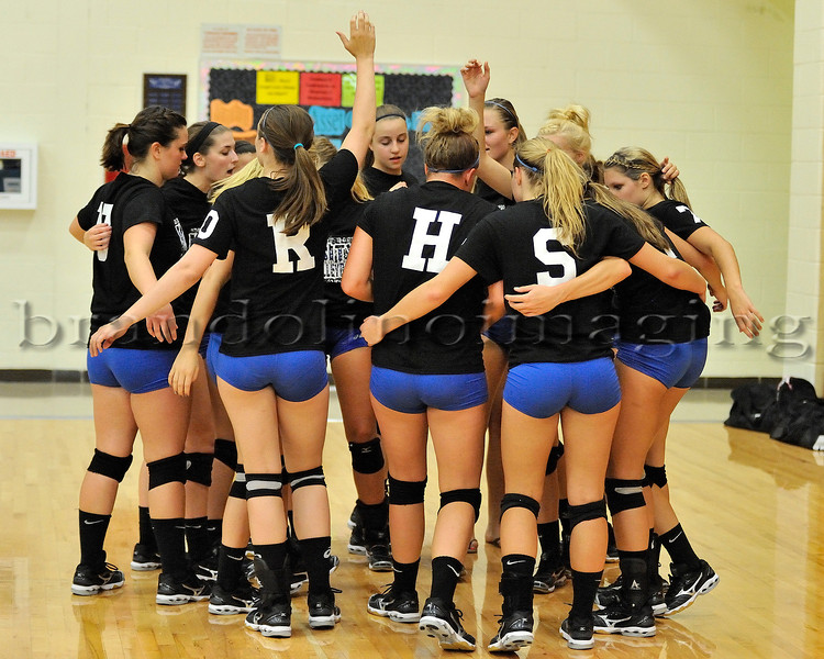 Lincoln-Way East Varsity Girls Volleyball (2012)