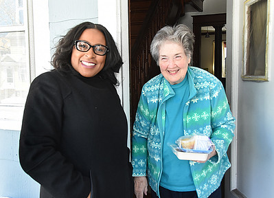 Mayor visits Meals on Wheels. 3/22/2017