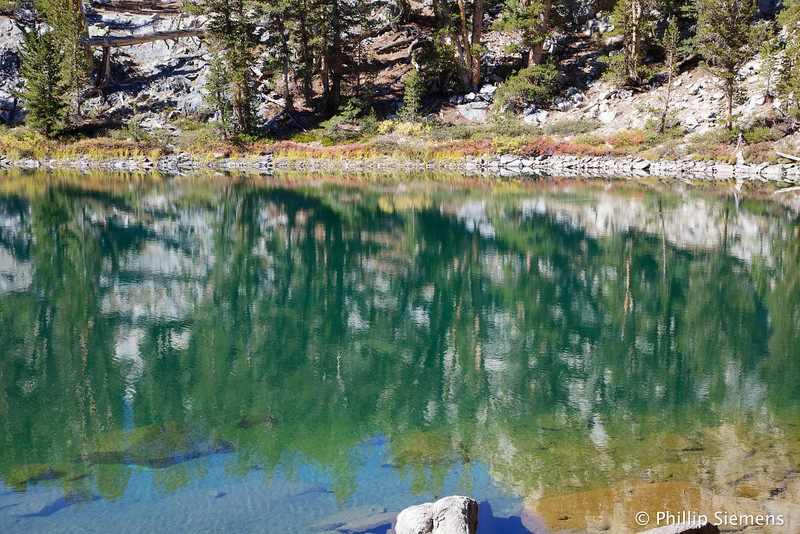 Unnamed lake just east of Long Lake in Little Lakes Basin