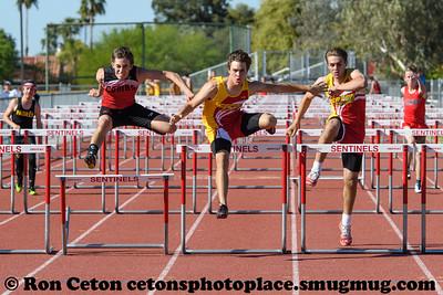 2017 Seton Catholic Duel 100m Hurdles