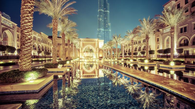 Exploring Dubai at Midnight