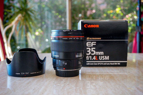 Canon and Sony Lenses