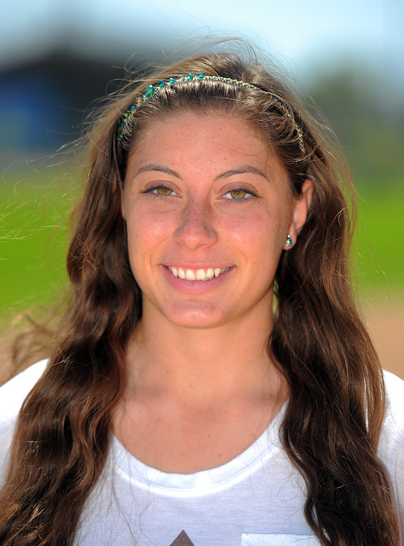 . North Torrance softball player Taylor Cairns is on the 2014 Daily Breeze Softball All-Area team. Photographed in Torrance, CA on Thursday, June 5, 2014. (Photo by Scott Varley, Daily Breeze)