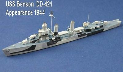 USA WW2 Destroyers