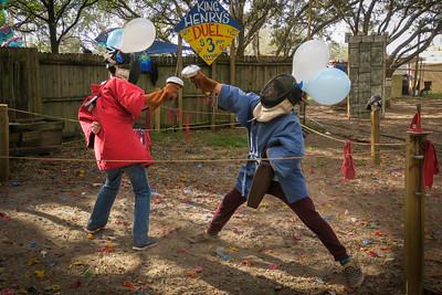 King Henry's Sword Duel