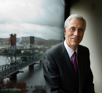 Raymond Davis, President of Umpqua Bank, 2009