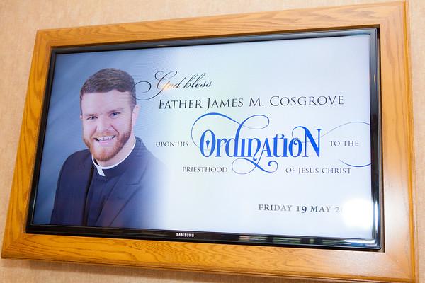 Fr. Jim Cosgrove's First Mass