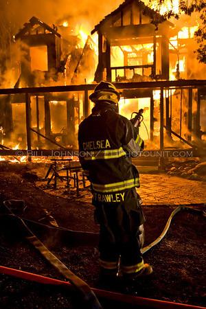 Structure Fire - 54 Valentine Drive - Chelsea Fire District - 4/25/08